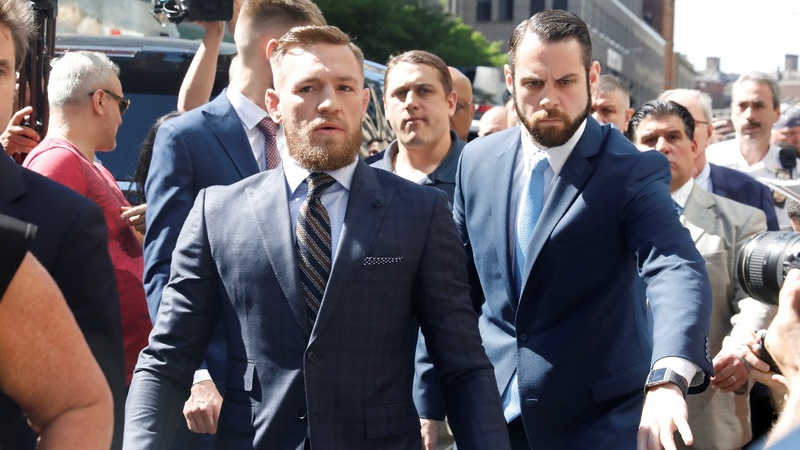 VERBATIM: Conor McGregor says 'I regret my actions'