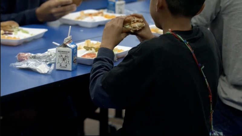 Inside an overcrowded immigrant shelter for children