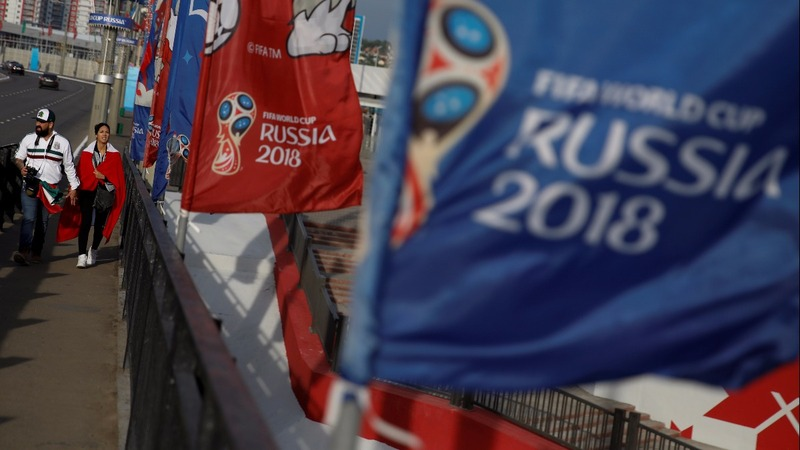 From soccer to sanctions, Russia's World Cup kicks off