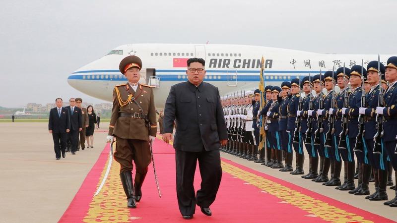North Koreans watch a different Trump summit