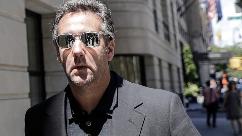 Prosecutors reassemble documents from Cohen raids