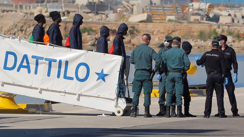 INSIGHT: Migrants blocked from Italy arrive in Spain