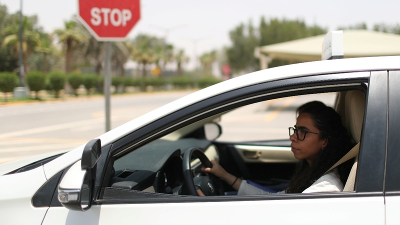 Big oil helps Saudi women get behind the wheel