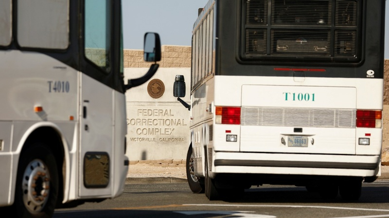 Migrant detainees influx strains federal prisons