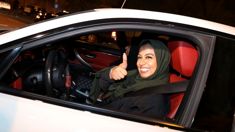 Saudi women enjoy new freedom as driving ban ends