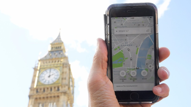 Uber goes to court in crucial European market