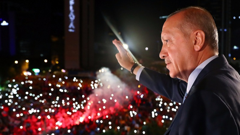 Election win hands Turkey's Erdogan new powers