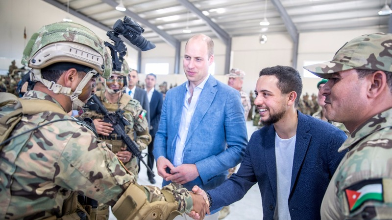 A royal first as Prince William visits Israel