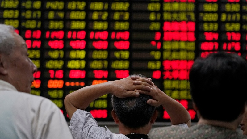 Asia tech stocks slide over U.S.-China trade row