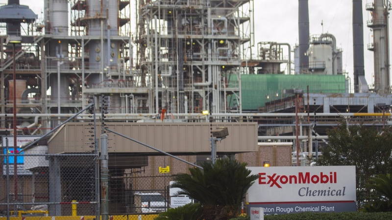 Global trade conflict worries Chevron, Exxon CEOs