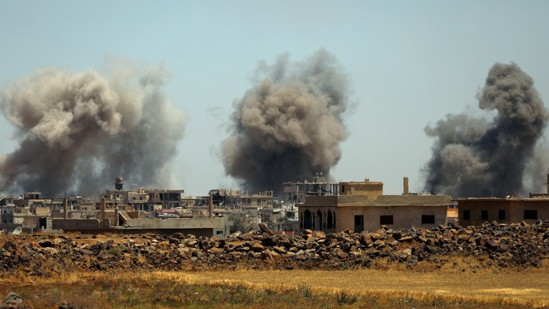 Troops advance on 'cradle' of Syria's uprising