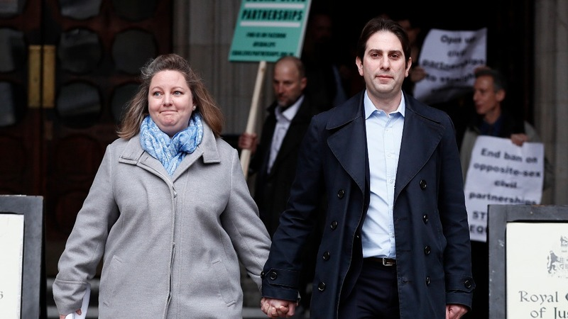 UK court backs civil partnerships for all