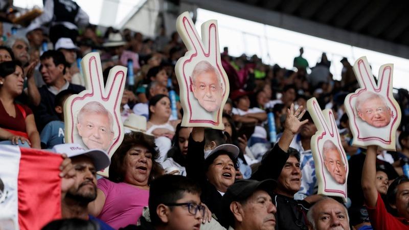 Lopez Obrador's final push ahead of Mexico's election