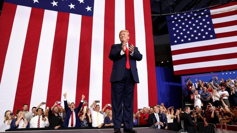 VERBATIM: Trump mocks Crowley for primary loss