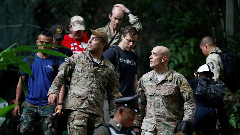 International teams join Thai cave rescue bid