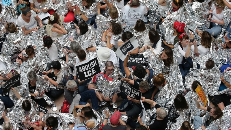 INSIGHT: Protesters yell 'Free our children now'