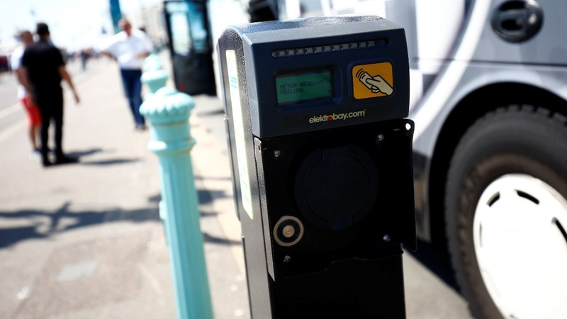 Oil giant BP buys electric car charging firm