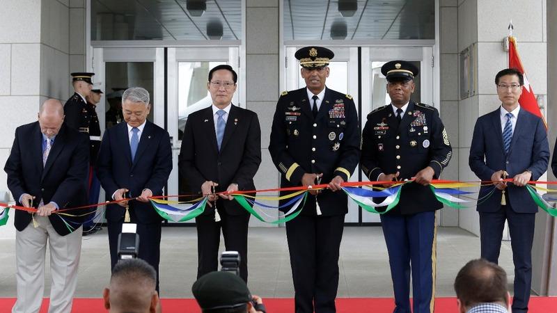South Korea 'paid for 90%' of new U.S. base