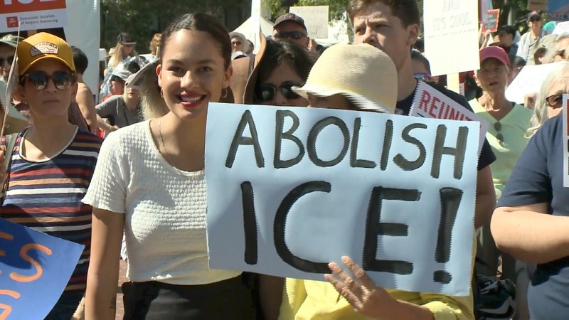 'Abolish ICE' gains steam