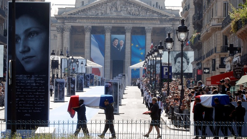 France honors Holocaust survivor who legalized abortion