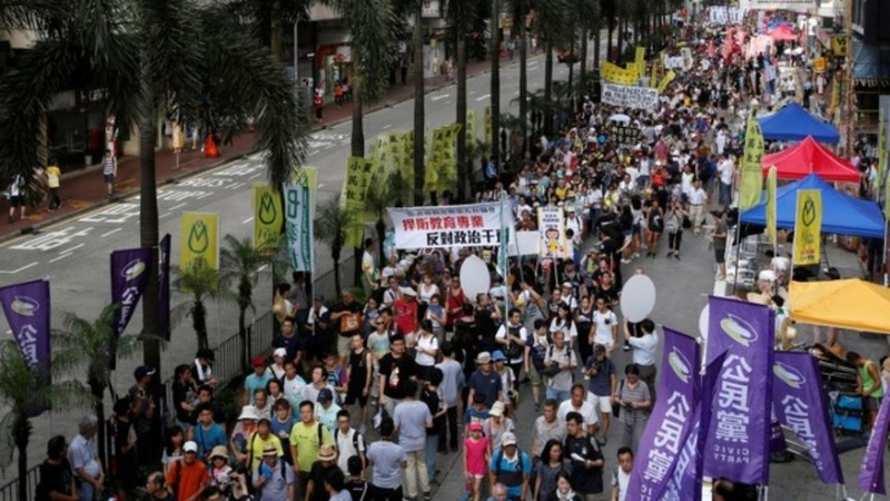 INSIGHT: Low turnout for annual Hong Kong protest