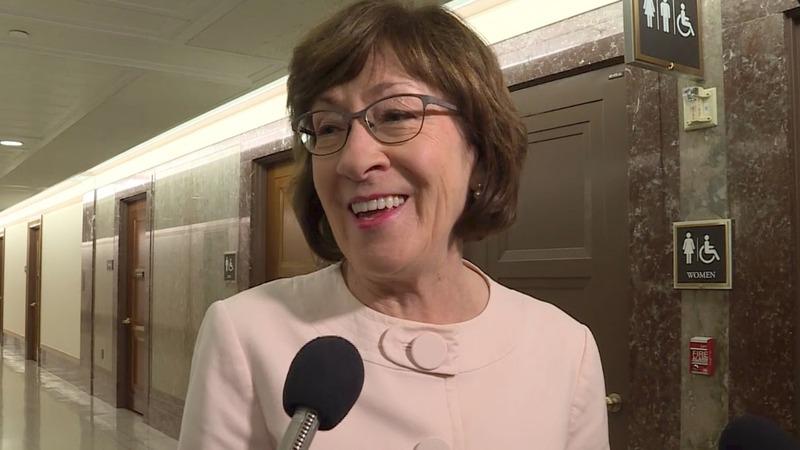Collins won't back anti-abortion Supreme Court nominee