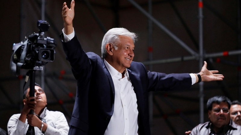 Mexican leftist Lopez Obrador wins presidency