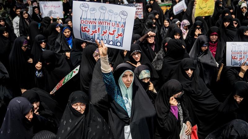 Iran's rulers face discontent as U.S. pressure mounts