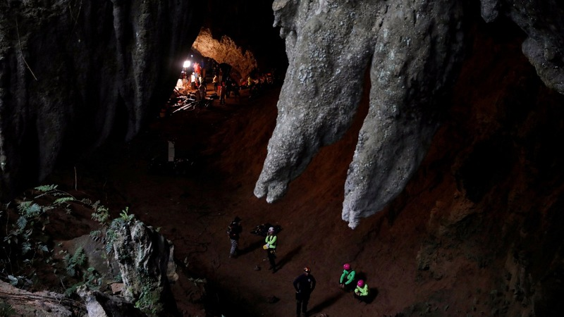 Missing boys found alive in Thai cave complex