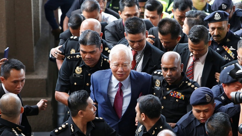 Malaysia's Najib Razak faces criminal charges