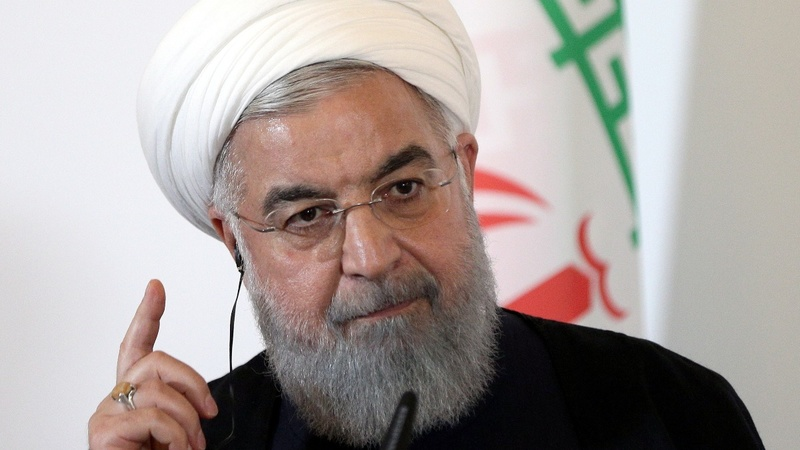 Trump's sanctions met with threat from Iran
