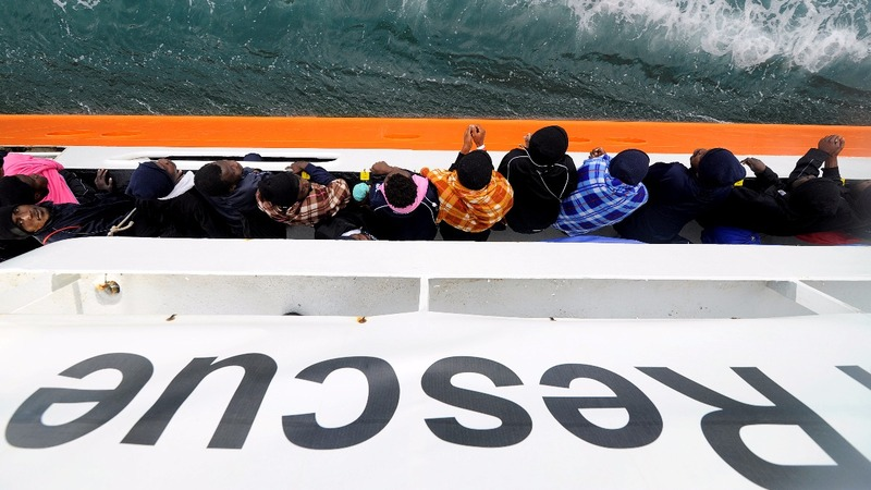 The rescue ship in the eye of a political storm