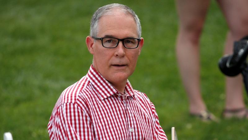 Scott Pruitt resigns as EPA administrator