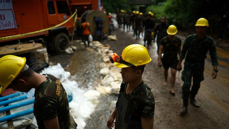 Thai diver dies working on cave rescue