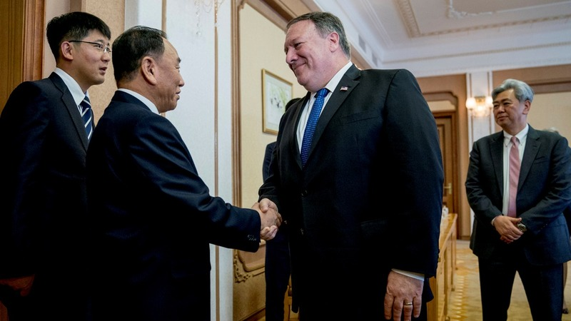 Pompeo hopes to 'fill in' details on denuclearization
