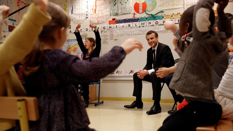 Macron's bid to fix France's education system