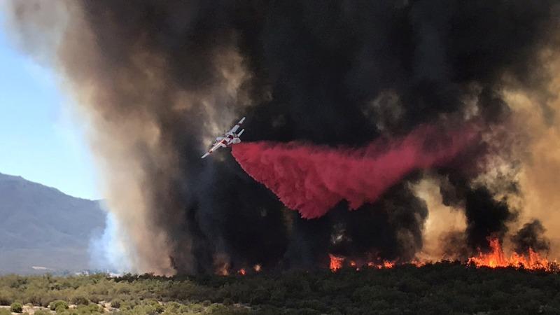 New wildfire in California kills one