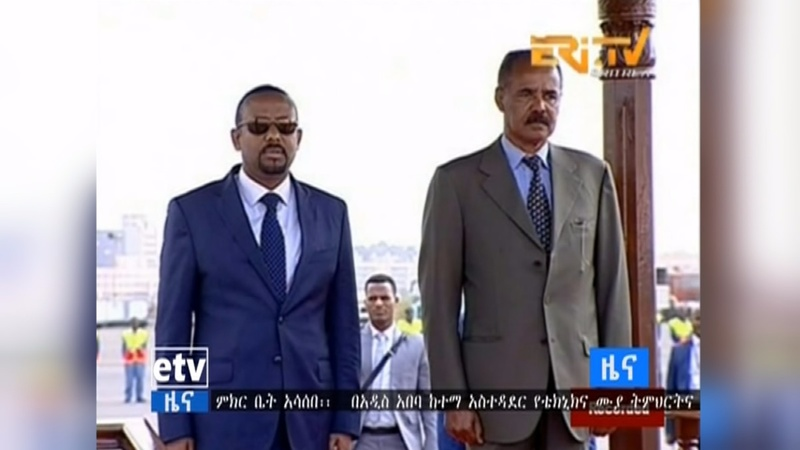 Eritrea and Ethiopia meet for historic talks
