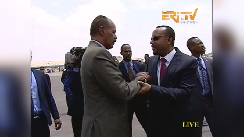 Ethiopia, Eritrea sign peace declaration