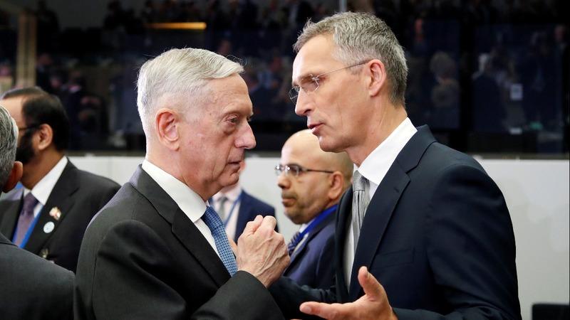 Mattis plays key role defending NATO