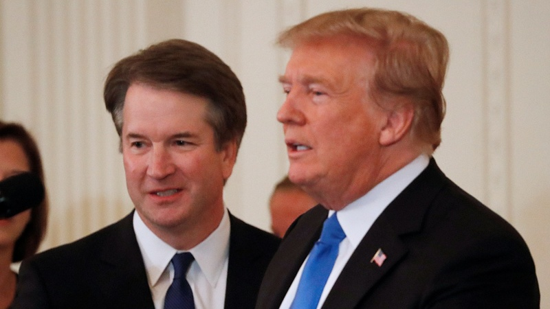 Trump picks conservative Kavanaugh for court