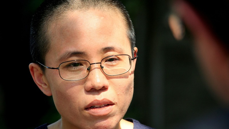 Widow of dissident Liu Xiaobo leaves China