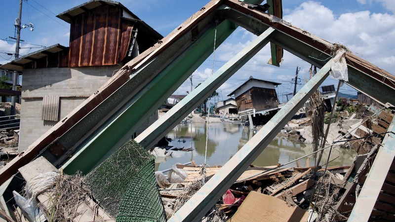 Japan flood survivors face uncertain future