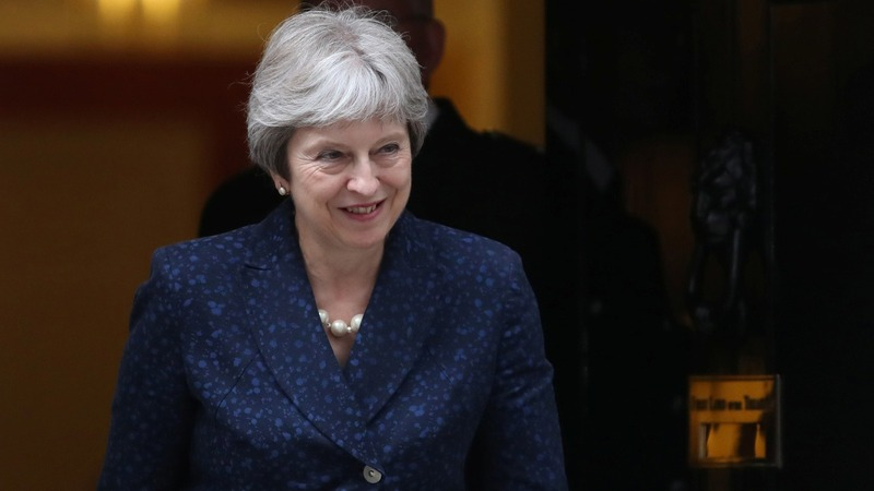The upside to UK PM May's Brexit crisis