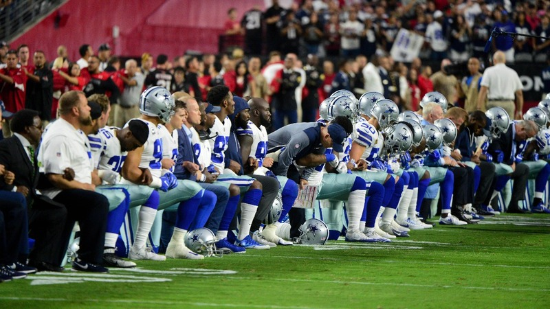 NFL players take legal action against anthem policy
