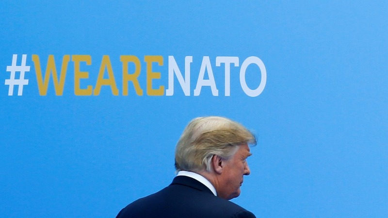 Trump now wants NATO to double its spending goal