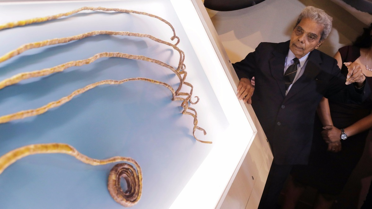 INSIGHT: World\'s longest fingernails cut off - Reuters TV