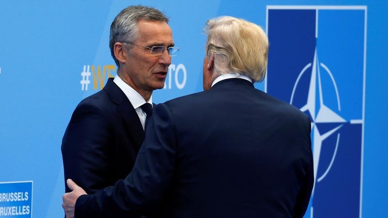 VERBATIM: NATO's Stoltenberg on Trump's 'impact'