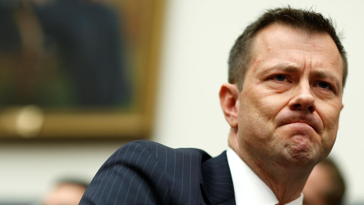 FBI's Strzok faces GOP fire for anti-Trump texts - Reuters TV