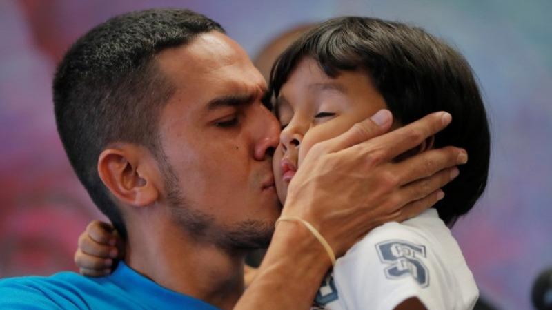 Fifty-seven of 103 young migrants reunited: U.S.